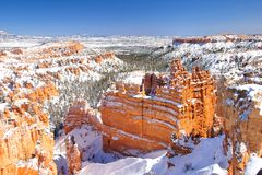Bryce National Park Royalty Free Stock Image