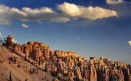Bryce National Park Radiant Rocks u. Unglücksboten Stockfoto