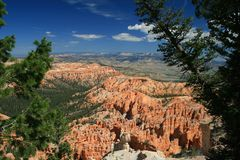 Bryce Point Bryce Canyon Stock Image