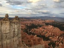 Bryce Point Bryce Canyon National parkerar arkivfoton