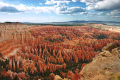 Bryce Point overlook stock photo