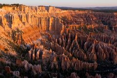 Bryce Point Sunrise Royalty Free Stock Photos