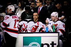 Bryce Salvadore New Jersey Devils. New Jersey Devils captain Bryce Salvadore #24 Royalty Free Stock Image