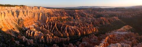 Bryce Schlucht am Sonnenaufgang Lizenzfreies Stockfoto