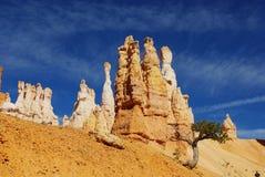 Bryce, Utah. Beautiful rock towers in Bryce Canyon, Utah Stock Photos