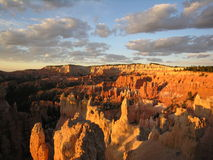 Bryce Wide. Shot of bryce canyon in utah Stock Image