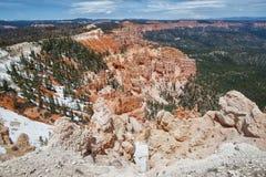 brycekanjonbildande parkerar den sedimentary rocken fotografering för bildbyråer