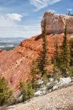 brycekanjonbildande parkerar den sedimentary rocken arkivbilder