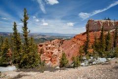 brycekanjonbildande parkerar den sedimentary rocken royaltyfri fotografi