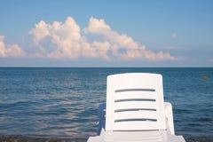 Bryczka hol na plaży obrazy stock