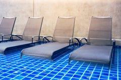 Bryczka hole w pływackim basenie Obraz Royalty Free
