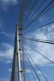 Brydge pylon Royaltyfri Bild