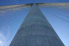 Brydge pylon Arkivbild