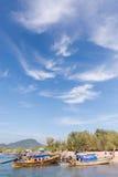 Brygga för Ao Nang arkivbild