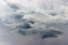 Brygga för stormmoln fotografering för bildbyråer