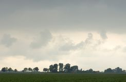 brygga storm royaltyfria foton