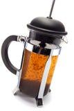 bryggad tea Arkivbild