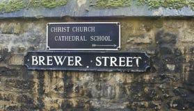 Bryggare Street Royaltyfri Bild