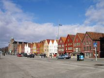 Bryggen Royalty Free Stock Photos