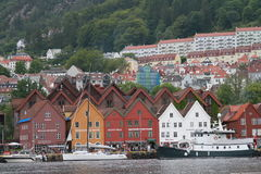 Bryggen Στοκ εικόνες με δικαίωμα ελεύθερης χρήσης