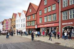 Bryggen Royalty Free Stock Image