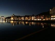 Bryggen Bergen foto de archivo libre de regalías