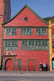 Bryggen, Bergen Norway Royalty Free Stock Images