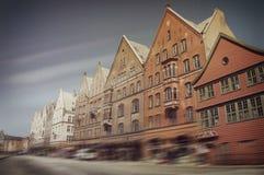 Bryggen in Bergen, Norway Royalty Free Stock Photo