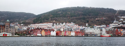 Bryggen in Bergen Royalty Free Stock Image