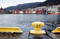 Bryggen in Bergen Stock Photo