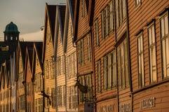 Bryggen, Bergen, Norwegen Stockfotos
