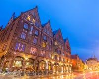 Bryggen byggnader Royaltyfria Bilder
