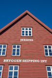 Bryggen, hanseatic league house in Bergen - Norway Royalty Free Stock Photos
