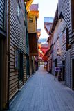 Bryggen Royalty Free Stock Photography