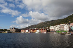 Bryggen. Norway. Bergen. Royalty Free Stock Photos