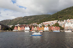 Bryggen. Norway. Bergen. Stock Photos