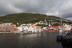 Bryggen. Norway. Bergen. Royalty Free Stock Photography