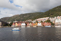 Bryggen. Norway. Bergen. Stock Photography