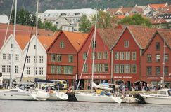 Bryggen Royalty Free Stock Images
