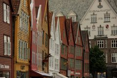 Bryggen Stock Photo