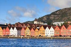 Bryggen Waterfront Royalty Free Stock Image
