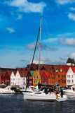 Bryggen Stock Photo