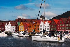Bryggen Royalty Free Stock Photo