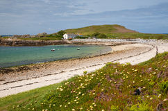 Bryher, isole di Scilly fotografia stock libera da diritti