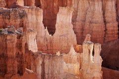 Bryka jaru park narodowy, Naturalny przyciąganie Utah obraz royalty free