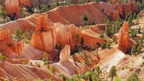Bryka jaru park narodowy, Naturalny przyciąganie Utah fotografia royalty free