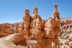 Bryka jaru park narodowy Utah Zdjęcie Royalty Free
