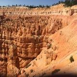 Bryka jaru park narodowy, Utah, usa zdjęcie stock