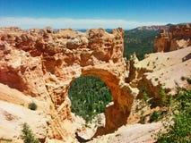 Bryka jaru parka narodowego Naturalny most obraz royalty free
