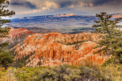 Bryka punktu Bryka jaru park narodowy Utah Fotografia Stock